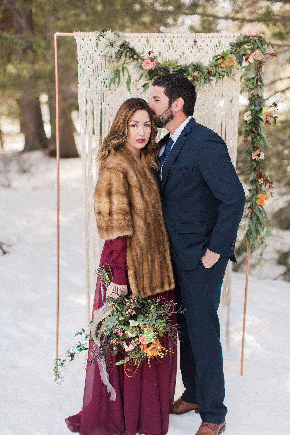 A Winter Engagement