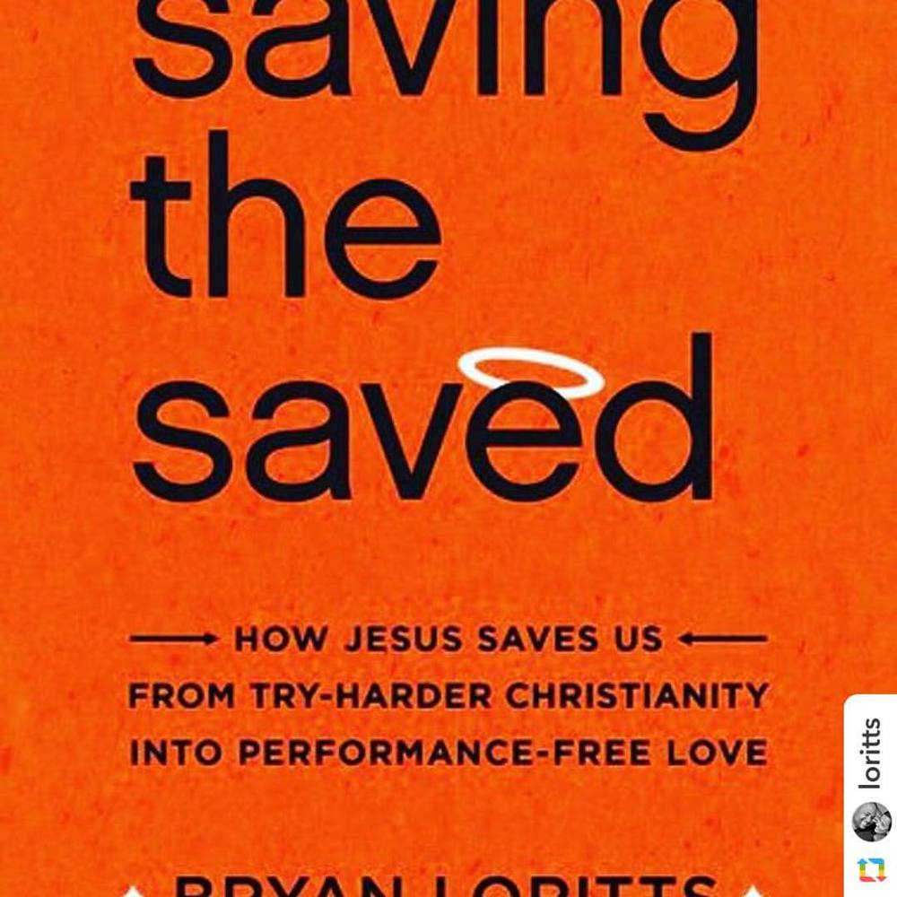 Check out Pastor Bryan's new book! #bryanloritts #SavingTheSaved (at ALCF)