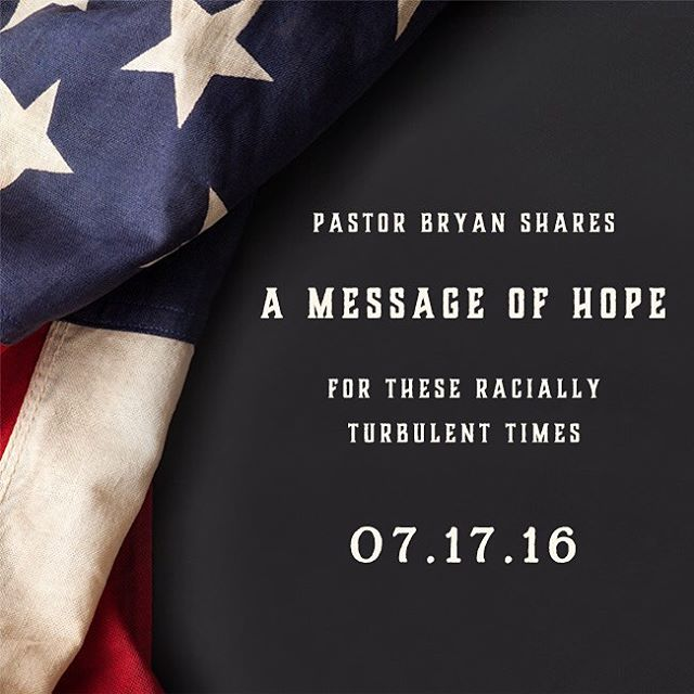 #ALCFmessages #bryanloritts #hope