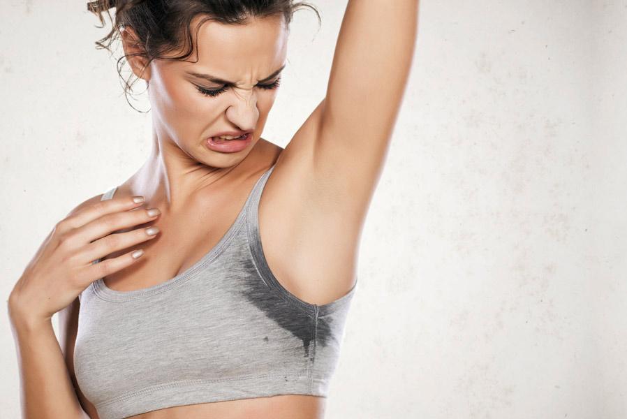 Image result for summer sweat problem