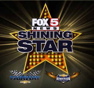 April 2017 Recipient of Fox 5 Shining Star Award for Excellence in the Community!