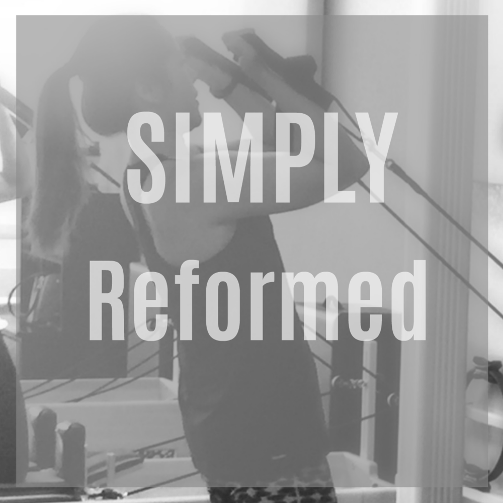 Simply Reformed - (Level 1)Reform your body in this group class. A full body workout is achieved on the reformer with movements that challenge. Long, Strong and toned muscles are the result! Prior experience on the Pilates equipment is required. Class is 50 minutes.