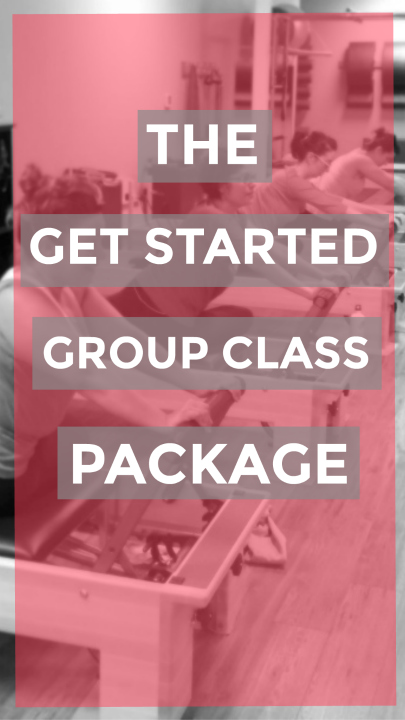 Get Started Package $149  - A consistent practice is key, so take advantage of our Get Started Package for the most economical way to transform your body and your mind. This package includes 9 Group Reformer Classes.Requirements: new students onlyExpiration: must be used within 30 days of purchase.Please click the Buy Now button, to complete your purchase and create your online account. We use the Mindbody online registration and booking system. We recommend the Simply Start class for your first class. You must reserve your spot in class at least 12 hours in advance. If you need help with registering, please send us an e-mail at info@simplypilatesfit.com and we'll get back to you within 24 hours.$149
