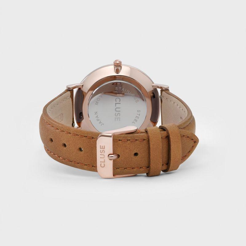 Cluse La Boheme Watch - Rose Gold White   Caramel — Homeroom Design b4f20f4d83