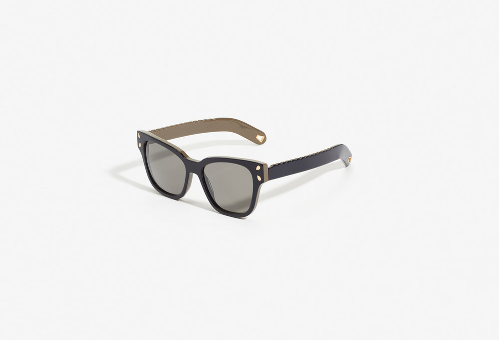 14ff8aaed3 Lucy Folk Diving For Gold Sunglasses - Blue Mountain — Homeroom Design