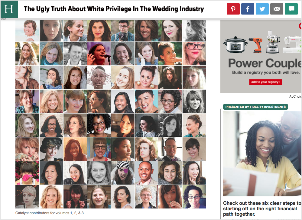 A feature on Catalyst in  The Huffington Post . My face is somewhere in here.