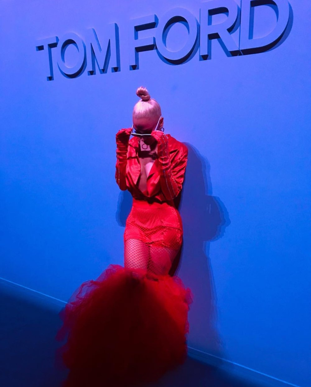 NYFW: TOM FORD, FEATURED IN MARIE CLAIRE MAGAZINE