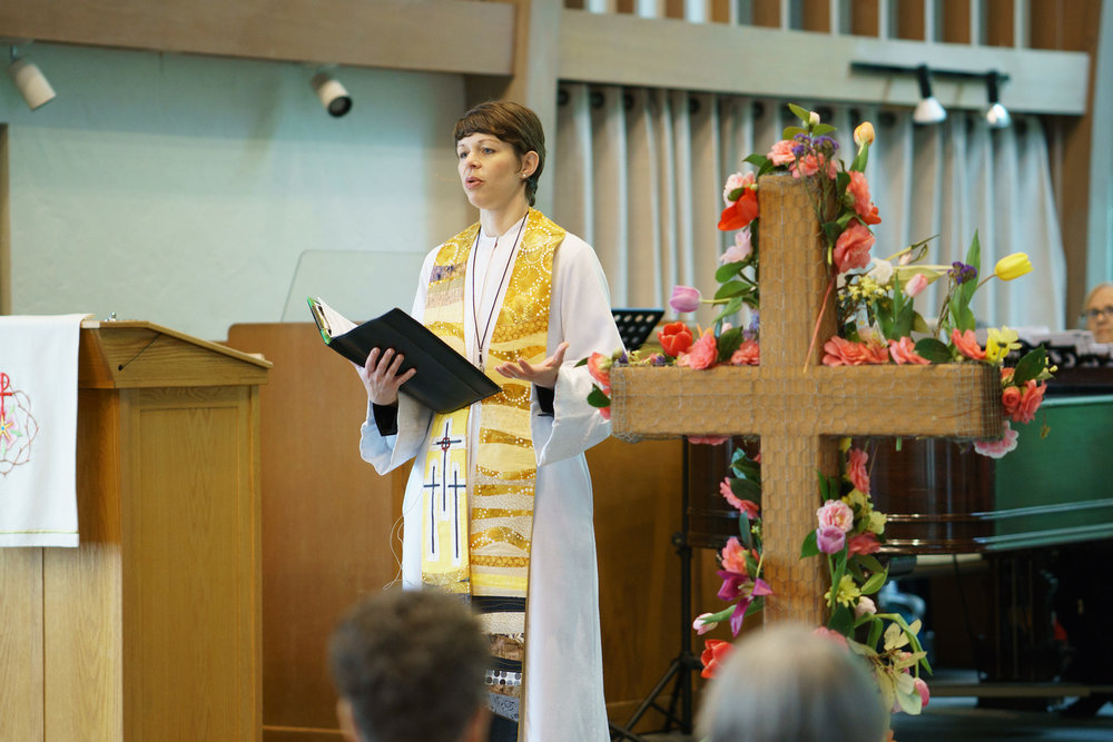 Pastor Leah