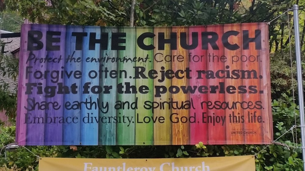 Open and affirmative at Fauntleroy Church