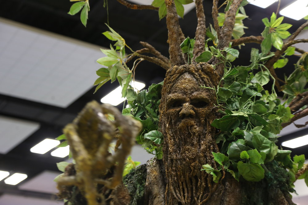 Guardians of the Mist brought a sense of magic and wonder to the the #NatureForAll Pavilion.