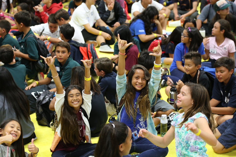 Kupu organized a students day, where 900 students from different islands in Hawaiʻi experienced the Congress, reminding us the vital role that#NatureForAll in inspiring the next generation to fall in love with nature!