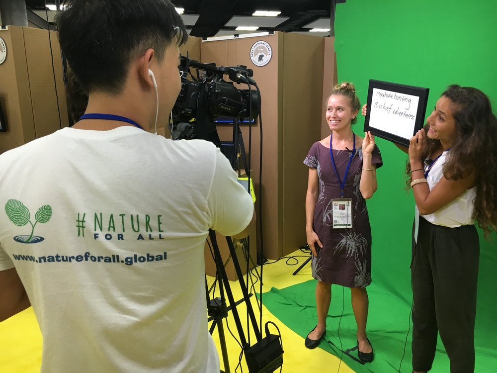 The #NatureForAll Media Team captured fascinating stories about how people connect with nature, and will continue to share these through multimedia projects in the near future.