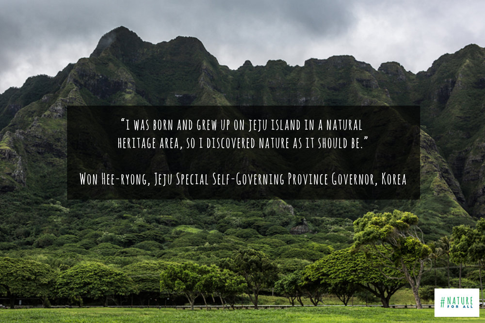 Photo taken on Oahu, Hawaii, & quote by Won Hee-ryong, Jeju Special Self-Governing Province Governor, Korea © James Sherwood, Bluebottle Films.jpg