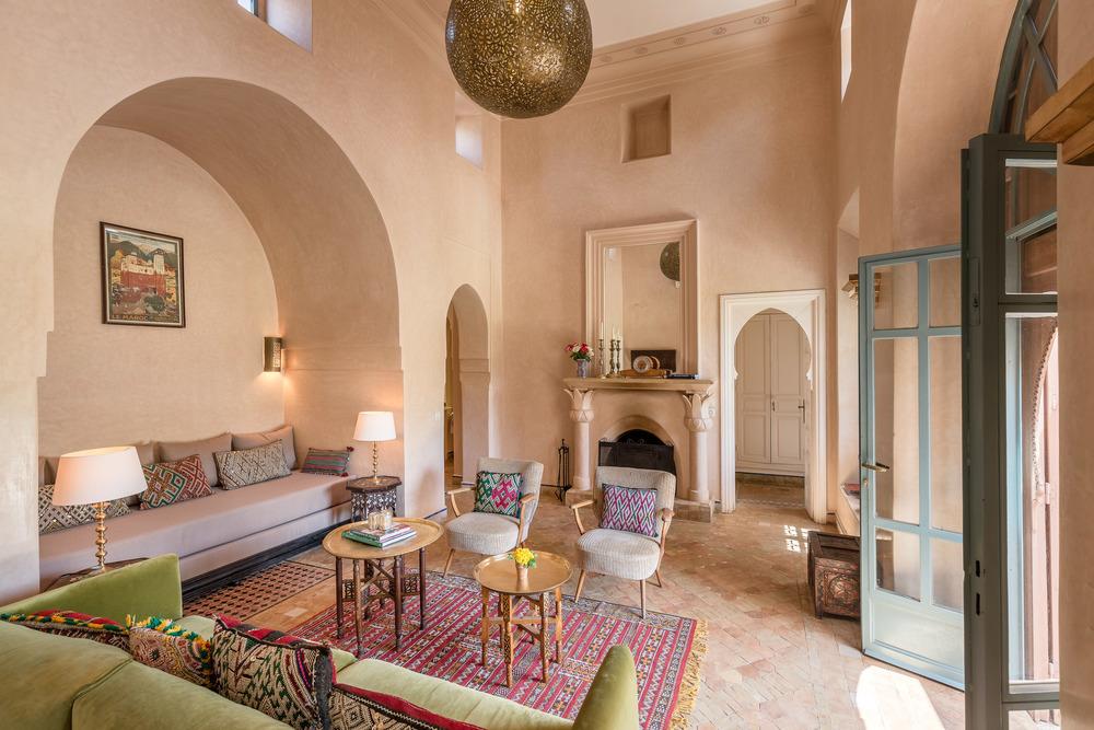 Villa Magtafa - Living room angle