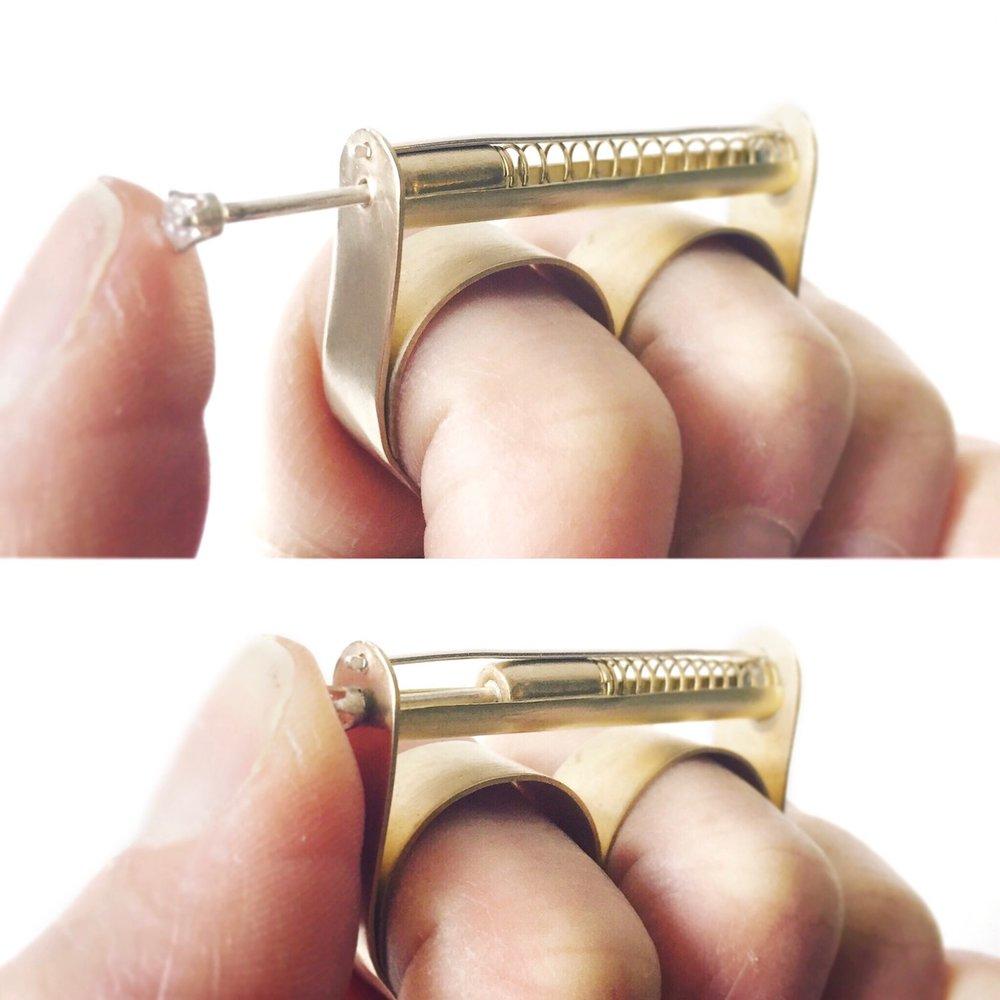 Emma Rose: Pen Clicker Nervous Habit Ring