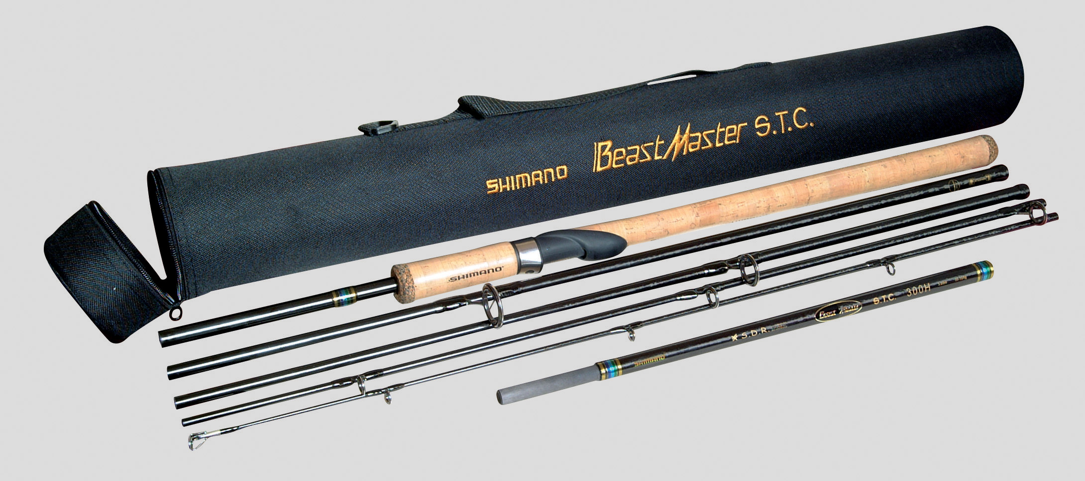 Shimano beastmaster stc spinning rod lure fishing rod for Best travel fishing rod