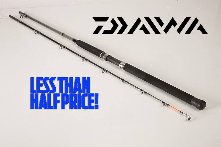 4666604b684 Daiwa Sea Hunter X boat fishing rod 7ft 6ins — Sea Angler