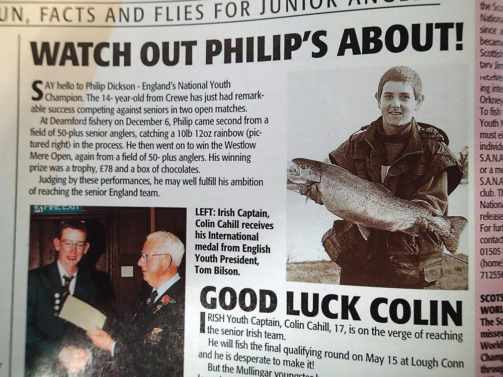 A youthful Phil Dixon: so good a friend of the magazine these days, we even go to the trouble of spelling his name correctly.