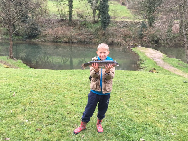 Kaiden Rogers, Bigwell Fishery.