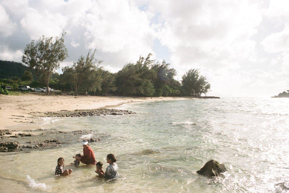 Waiale'e Beach, North Shore, Oahu Nikon F3, Agfa Vista 400
