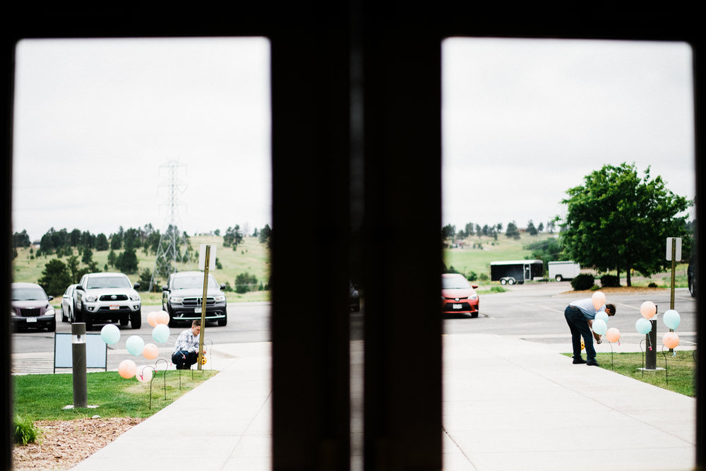 photo of guests outside at Parker Evangelical Presbyterian Church