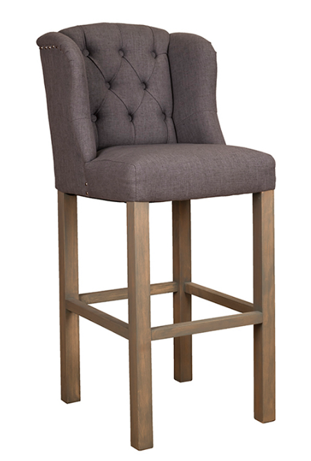 No. 2: The Daisy Bar stool is available in a range of fabrics and is a really comfortable bar stool as it is deep bar stool