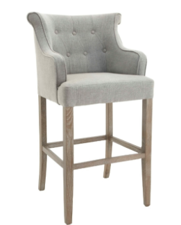 No. 3: This Gala Bar Stool celebrates using shape in a bar stool. Also available in a dark colour way.