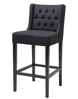 No. 4: Lane Barstool is a great bar stool because it is very simple with just the addition of buttoning at the back