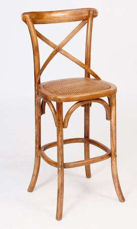 No. 7: This Bentwood Barstool is my favourite for a French Shabby Chic kitchen with its natural wood.