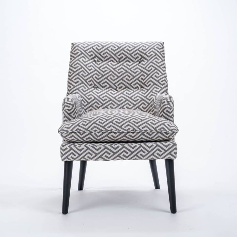 Foyle cub chair - grey  €595