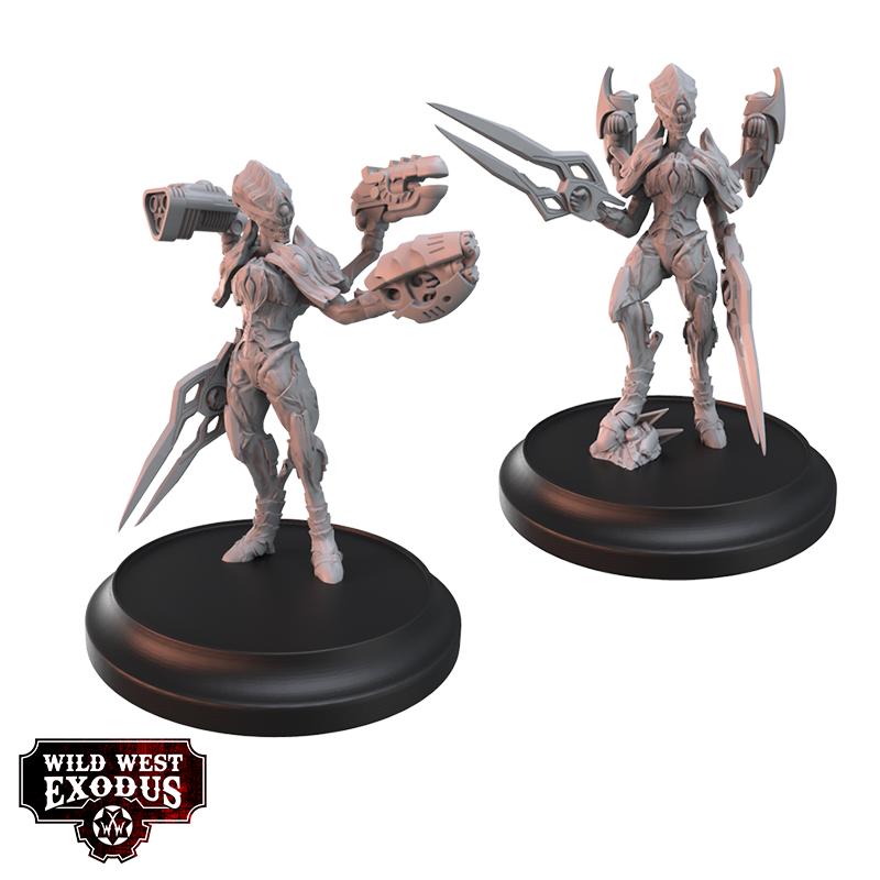 Viridian Betas Miniatures Set