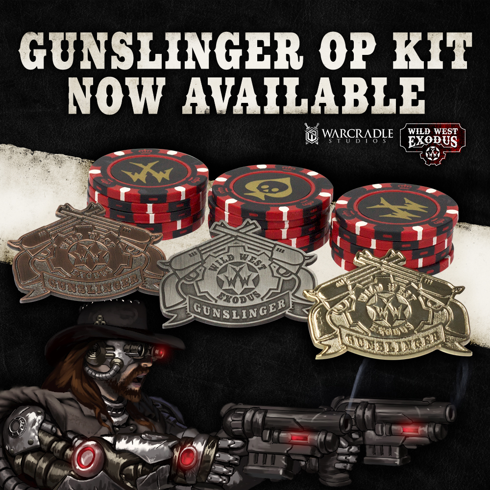Gunslinger Organised Play Kit
