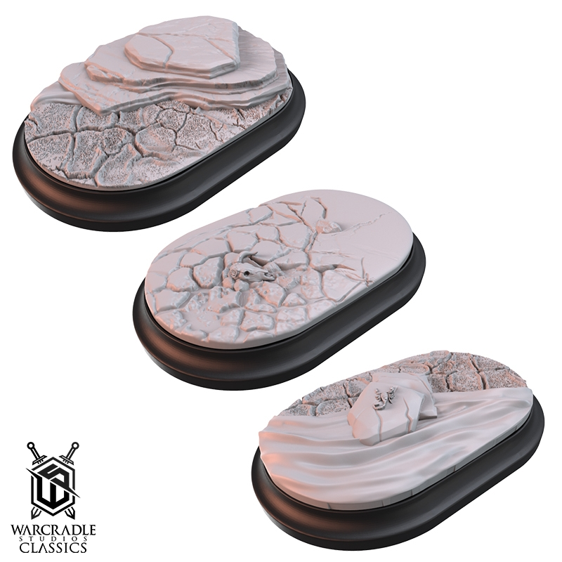 Union Badlands Medium Oval Base Toppers
