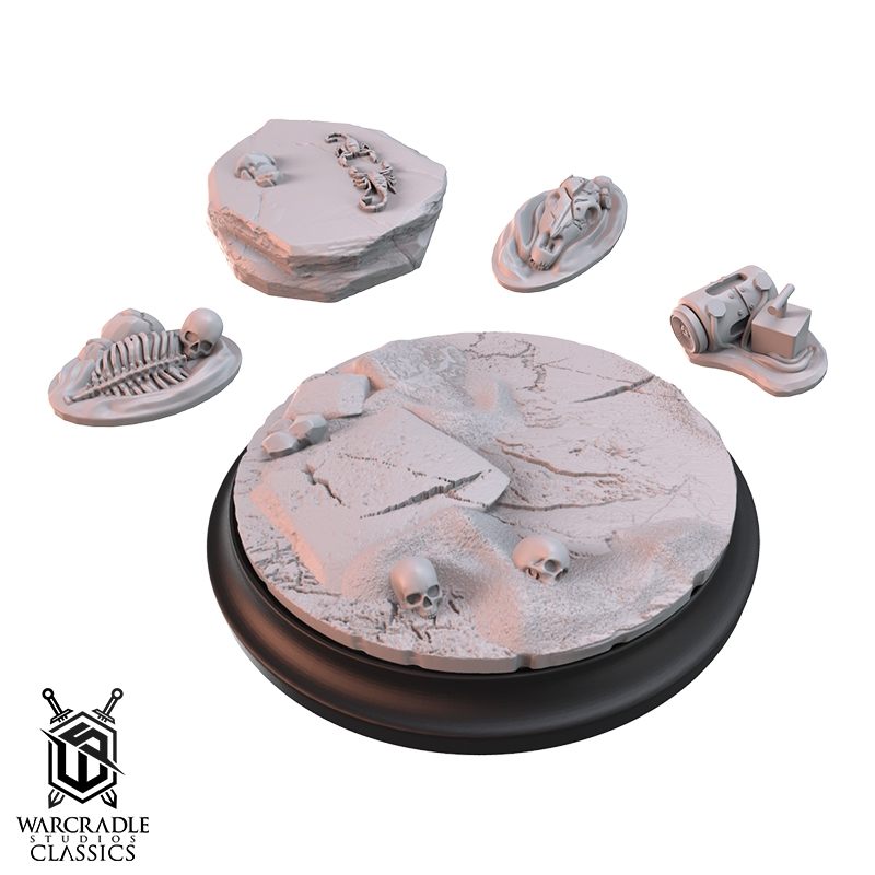 Union Badlands Large Base Topper & Scatter Terrain