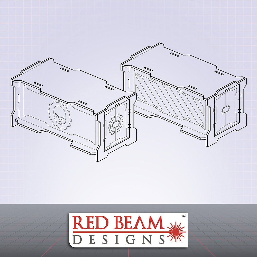 Complex Red - Storage Crate Set