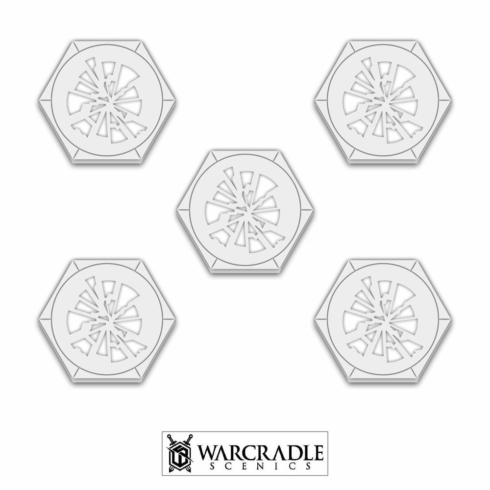 Shattered Glass Hex Token