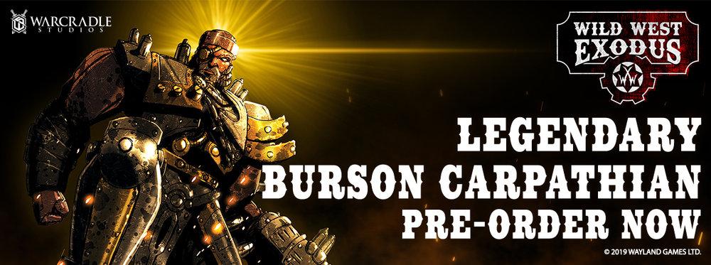 Legendary Burson Carpathian