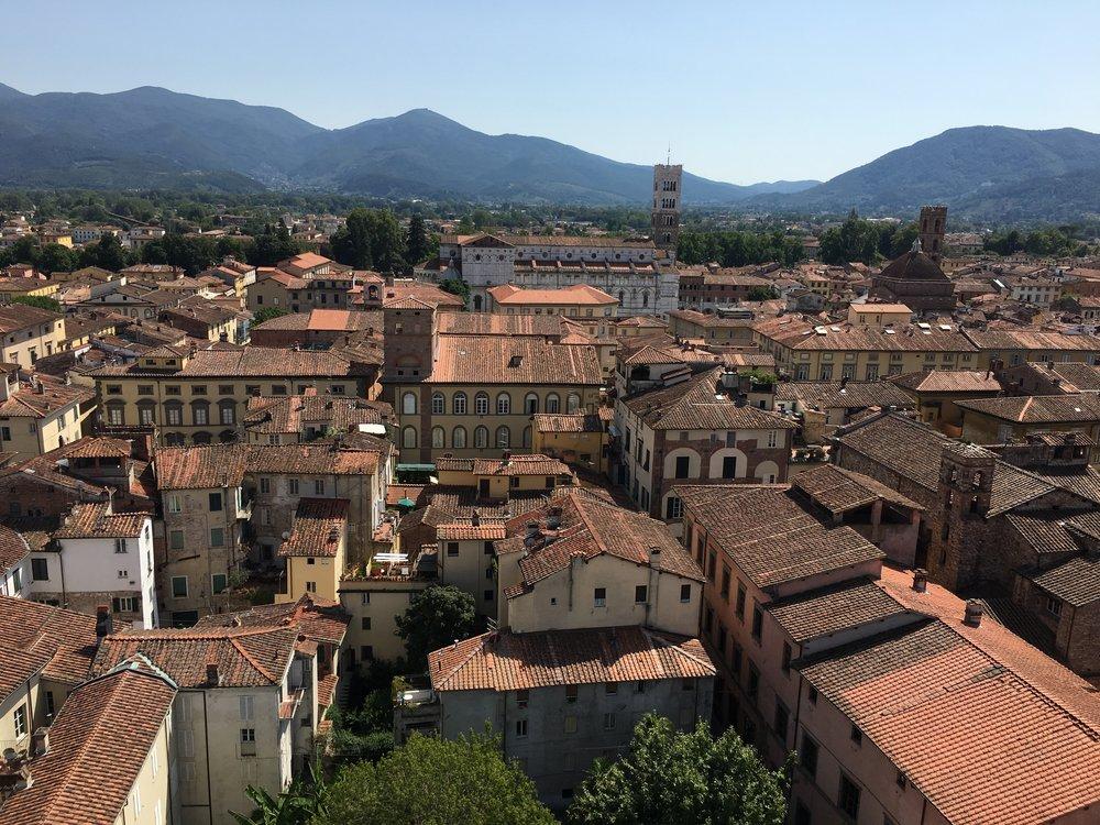 Lucca vista desde lo alto