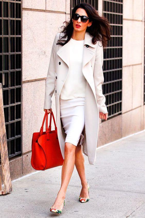 Otra mujer ejecutiva excelente para imitar es Amal Clooney