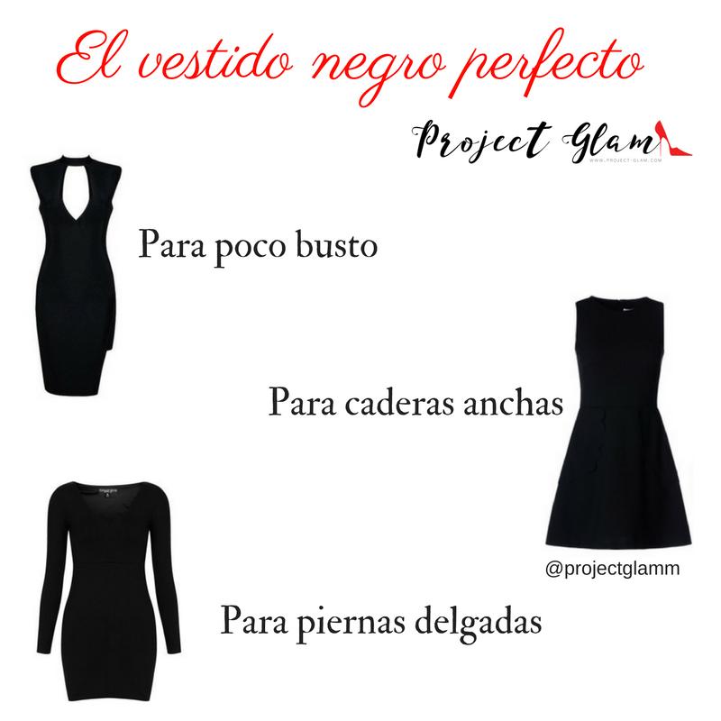 Como hacer un vestido negro clasico