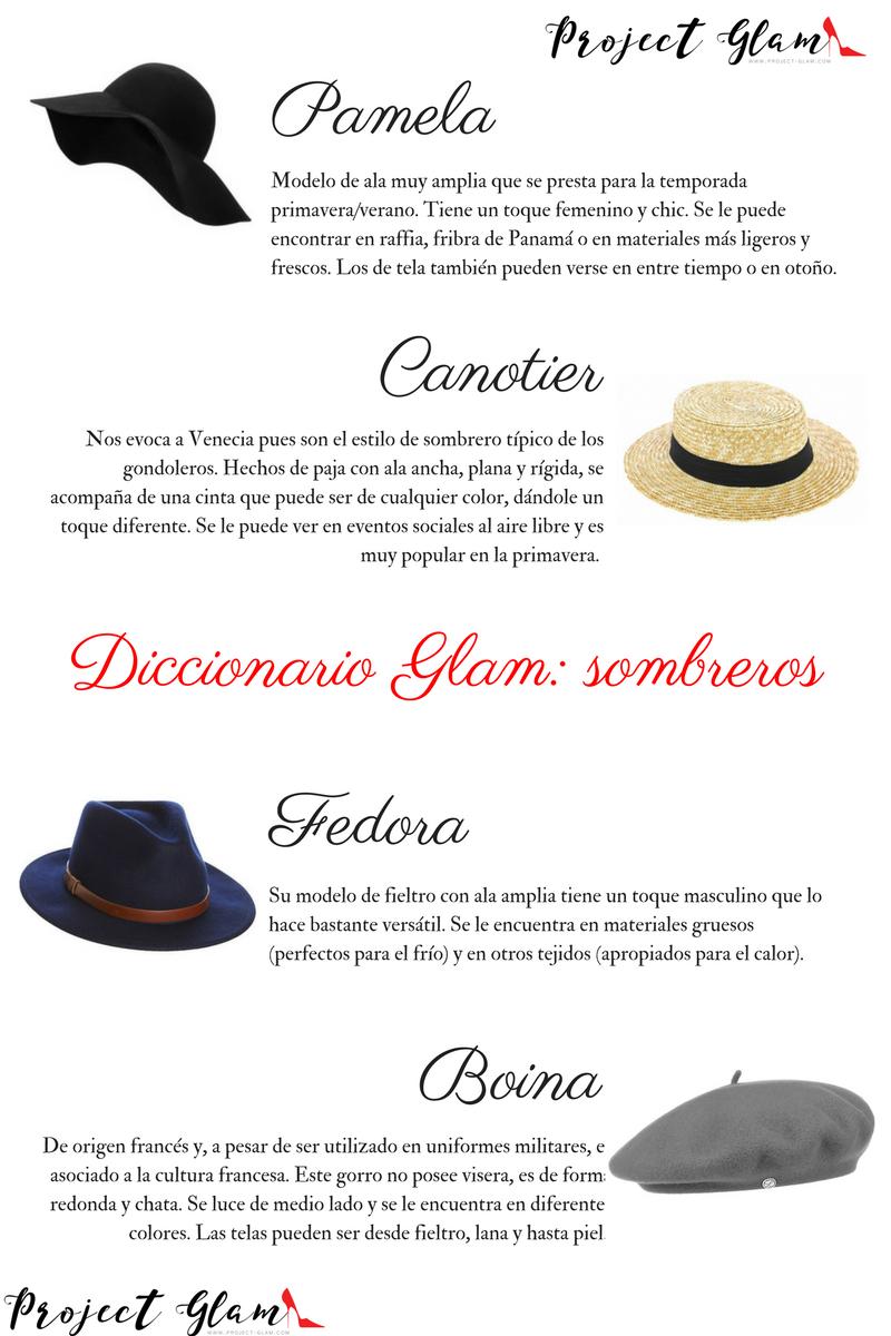 Diccionario Glam  sombreros con estilo — Project Glam acf6ba2beb0