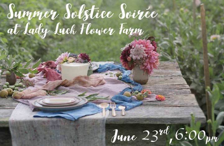 Join Intentional Swine and Lady Luck Flower Farm as we host a beautiful summer gathering on the farm, featuring live music, Burial beers, and plentiful seasonal dishes. Stroll around fields of flowers and take in the gorgeous mountain views as we kick of summer the right way. Tickets, pricing and more information to follow - stay tuned!