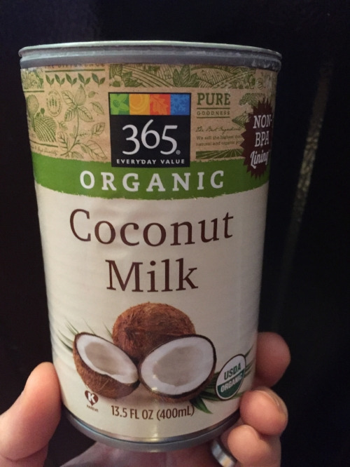 Canned Coconut Milk - a tasty source of fats for smoothies and Bulletproof style coffee