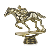 Equestrian- w/Jockey
