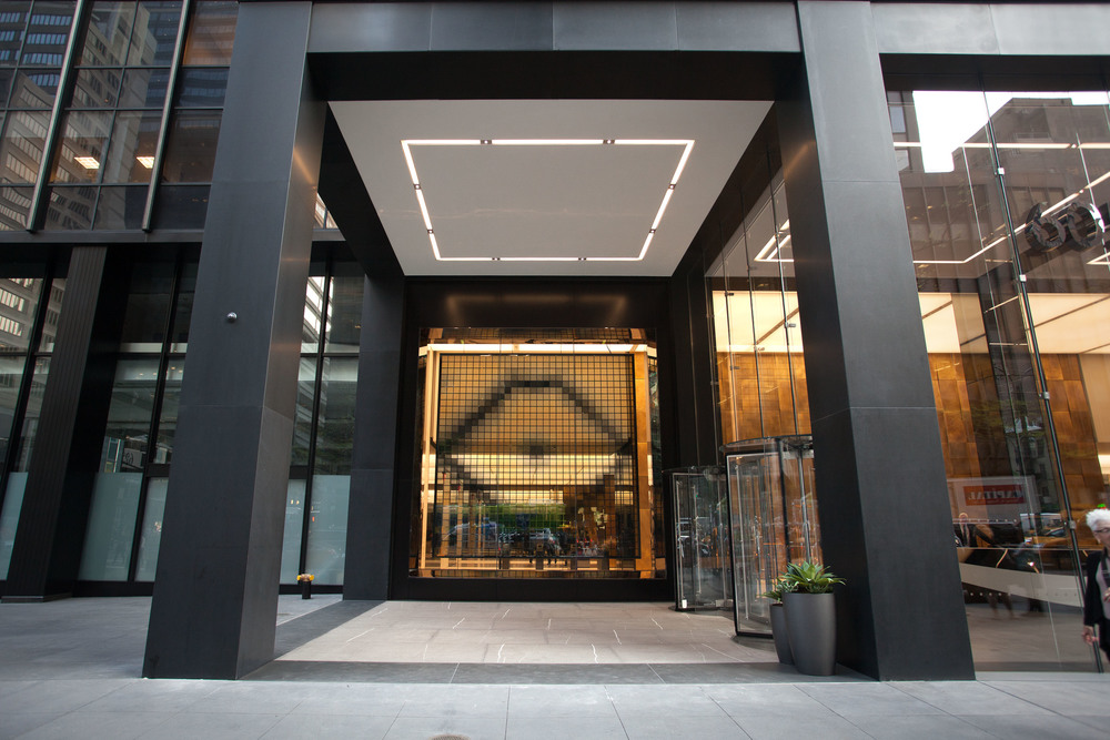 605 Third Avenue   Architectural content inspired by kaleidoscopes for a technology installation