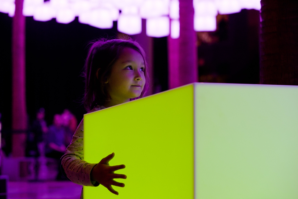Luminaries   An interactive holiday lighting display for Brookfield Place