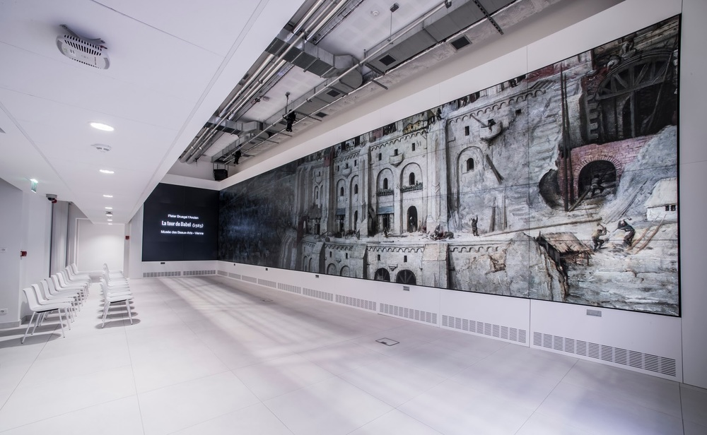 Google Cultural Institute, Paris   Turning an online platform into a physical and interactive architectural space