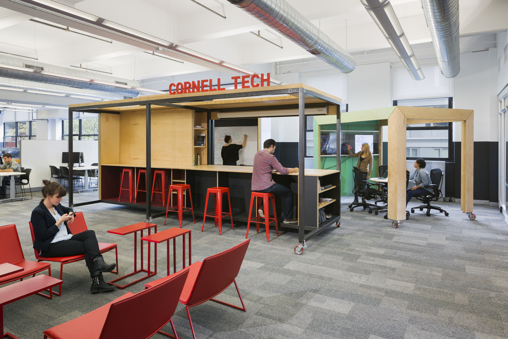 Cornell Tech   A fully-portable and transformable college campus inside Google's Chelsea office