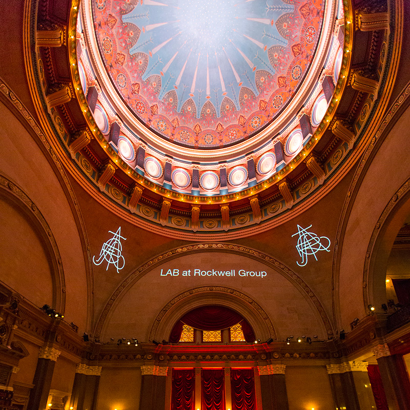 Beaux Arts Ball   A projection installation for the 2014 Beaux Arts Ball that celebrated the craft of architecture