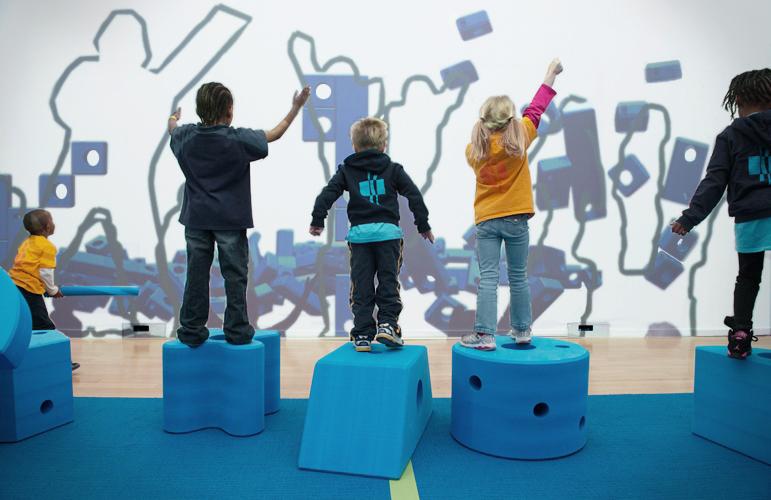 PLAY WORK BUILD   An interactive installation of virtual block play